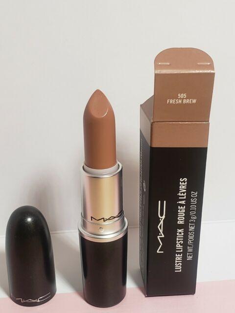 MAC Lipstick FRESH BREW 505 Full Size New in Box Authentic