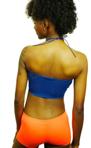 Women/'s Basic Stretch Padded Tube Bra With shoulder string for hold $4.99