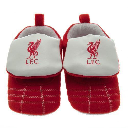 Liverpool Boot Crib 9 12 Months Slippers Baby Soft Fan Official Licensed  Product  7ecce11326f6