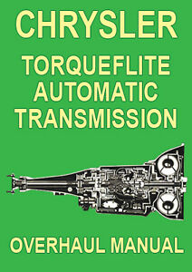 auto transmission overhaul manual