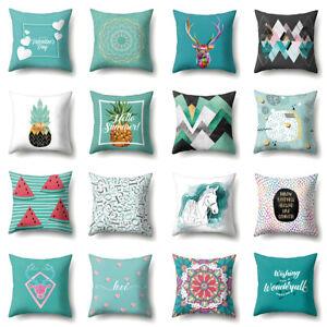 Am-KF-Love-Heart-Deer-Horse-Watermelon-Pillow-Case-Cushion-Cover-Sofa-Car-Deco