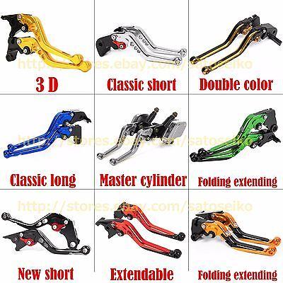 7 Style Levers For BAJAJ Pulsar 200 NS All Years Clutch Brake Short Long Folding