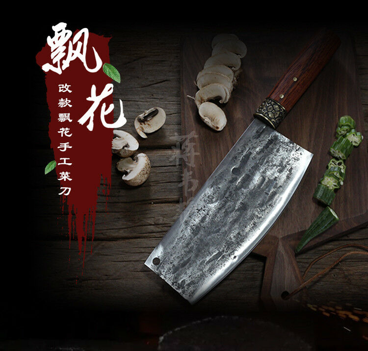 Handmade Forged Chef Kitchen Knife Meat Cleaver Slicing Fish Multi-purpose knife