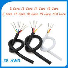Multi Core Pvc Cable 28 Awg 2345678910 Core Signal Flexible Copper Wire