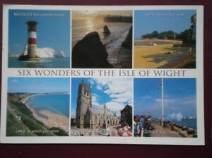 POSTCARD ISLE OF WIGHT SIX WONDERS MULTI VIEW - <span itemprop=availableAtOrFrom>Tadley, United Kingdom</span> - Full Refund less postage if not 100% satified Most purchases from business sellers are protected by the Consumer Contract Regulations 2013 which give you the right to cancel the purchase w - Tadley, United Kingdom