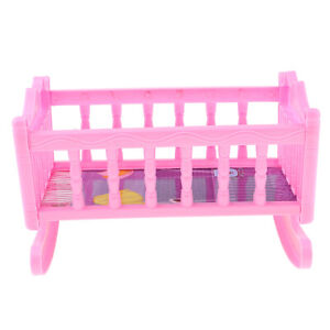 Rocking Chair Sofa Accessories Plastic Furniture Sets For Doll HouseDecorationJB