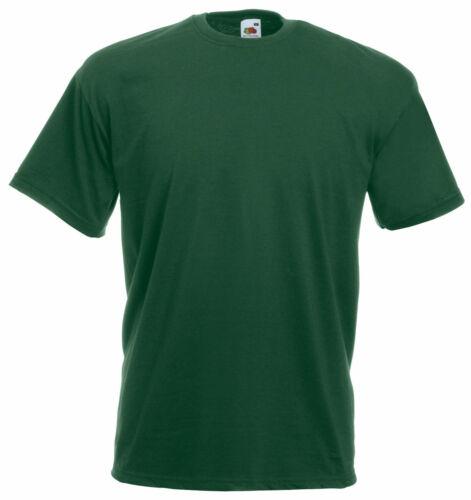 FRUIT Of The Loom Bambini Ragazzi e Ragazze T-shirt ORIGINALE