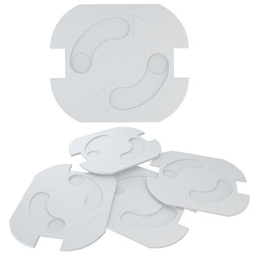 10 - 50 Stück Steckdosen Sicherung Kindersicherung Steckdosen Schutz Steckdose