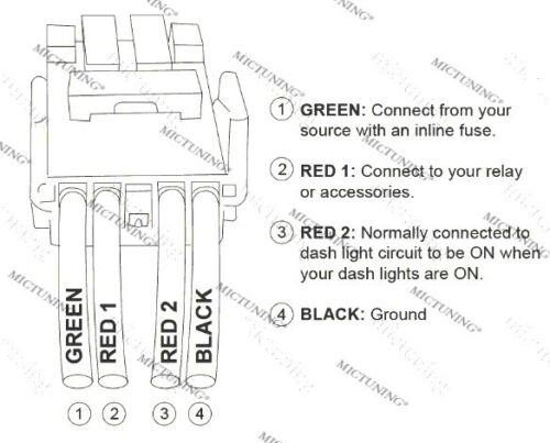 12V Laser Push Switch Blue LED Rear Light For Toyota Tundra Highlander 40mm*20mm