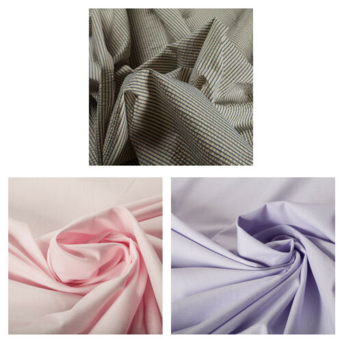 100/% Cotton Stripe Print Pattern Fabric Upholstery Crafts Fashion Clothing Bed