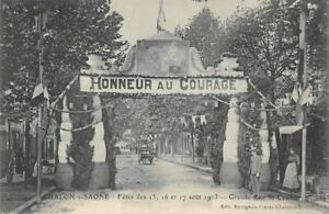 Chalon-Sur-Saone-Holidays-of-15-16-and-17-August-1913-Honneur-to-Courage