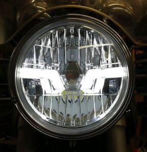 Claro-Como-El-Cristal-LED-Faros-Cabeza-Luz-Honda-CBF-500-n-CBF-600-N-039-CE-039-039-e-039
