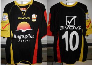 messina-shirt-maglia-leon-nr-10-taglia-L-2012-13-toppa-lega-calcio-lnd