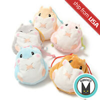 Genuine Japan Amuse Coroham Coron Hamster Pouch Drawstring Bag Cute Kawaii Bag