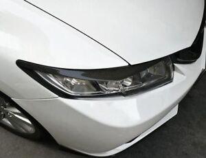 For-Honda-Civic-2012-2015-Carbon-Fiber-Headlamps-Light-Brow-Decorative-Trim-2Pcs