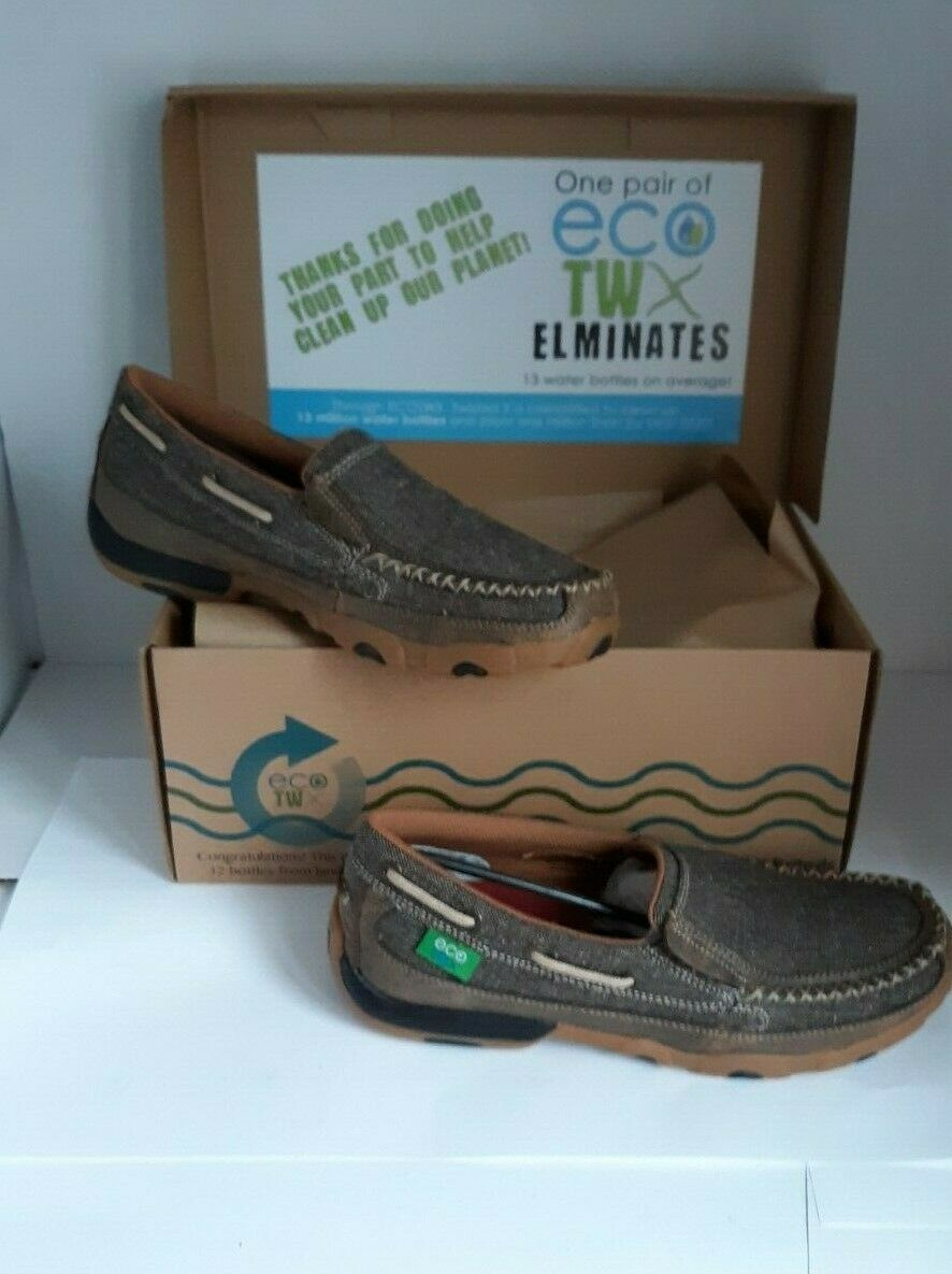 Women's Twisted Twisted Twisted X Eco Slip On shoes Loafers Size 9.5M Made with Recycled Bottled 46a69b