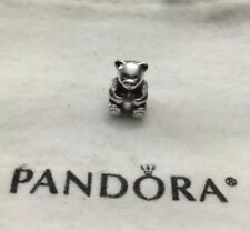 def6750e5 item 3 RETIRED Authentic Pandora Sterling Silver S925 ALE Teddy Bear Charm  790395 RARE -RETIRED Authentic Pandora Sterling Silver S925 ALE Teddy Bear  Charm ...