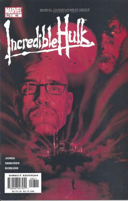 """Incredible Hulk #46 (Dec 2002) - Hulk & Agent Pratt in """"Multiple Organism"""""""