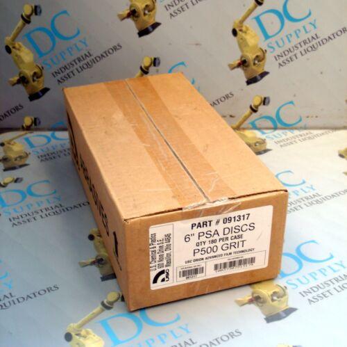 "180 PER CASE NIB USC 091317 6/"" PSA DISCS P52000 GRIT"