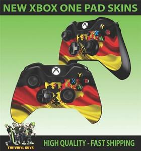 Details about XBOX ONE CONTROLLER PAD STICKER GERMAN FLAG GERMANY COAT OF  ARMS SKINS X2