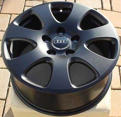 4 original Audi VW Porsche RDK sensores 7pp907275f 433mhz negra válvulas 19/%