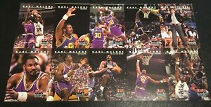Karl-Malone-1992-Skybox-USA-Basketball-10-Card-Factory-Uncut-Sheet-Rare