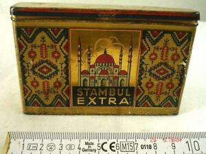 Antiguo-Envase-Lata-Stambul-Extra-Persia-Dresden