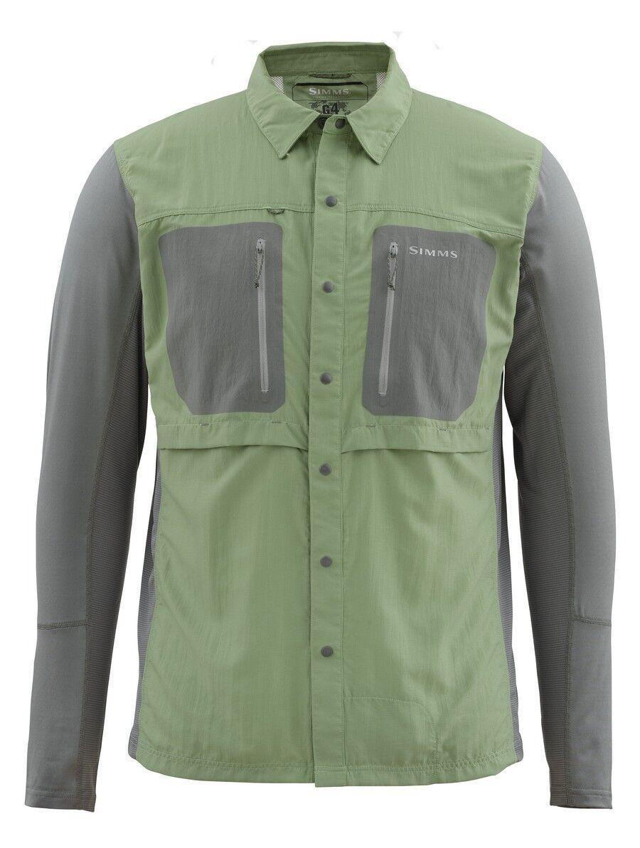 Simms GT TRICOMP Long Sleeve Shirt  NEW Mantis   XL  CLOSEOUT