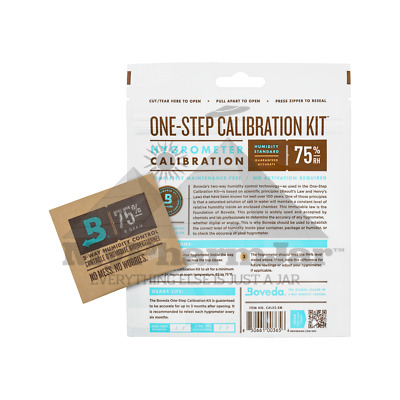 75.5/% RH BOVEDA ONE-STEP CALIBRATION KIT SMALL
