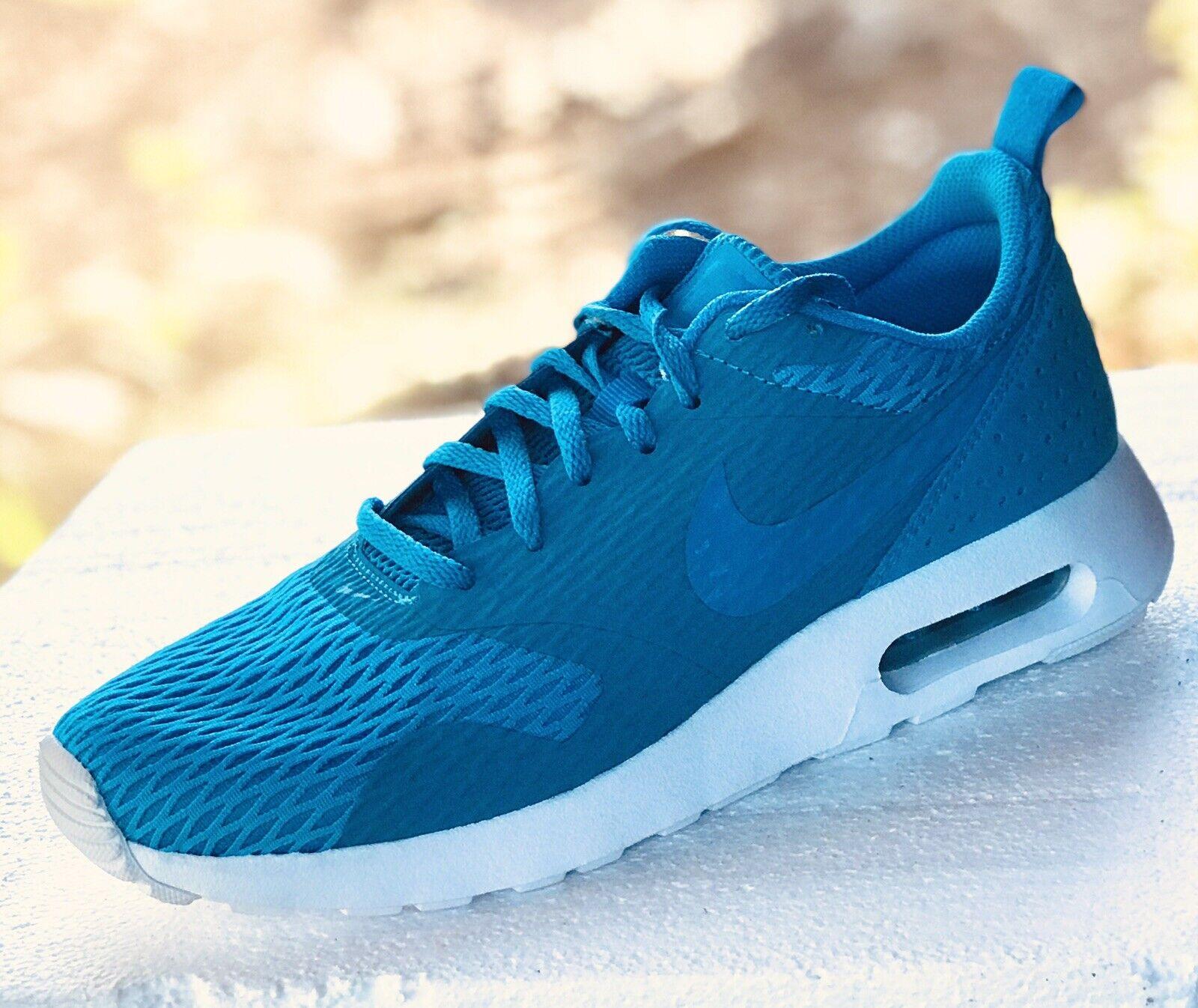 NIKE AIR MAX TAVAS TAVAS TAVAS SE REGULAR Running shoes 718895-402 Mens 7.5   Cyan bluee NEW 746541