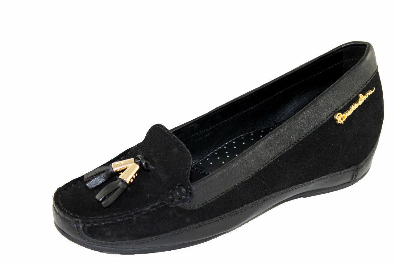 Braccialini Women's shoes shoes Slipper Loafers Size 36-40 220cn Black