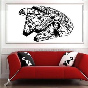 Millenium Falcon Star Wars Vinyl Wall Art Decal Movie