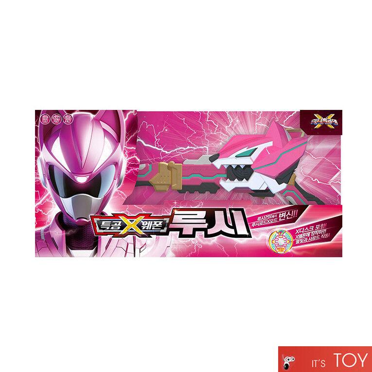 Miniforce Mini Force X RANGER WEAPON LUCY Pink Transweapon Rod Gun Sword Toy set