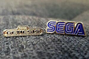 Sega-Genesis-Classic-Metal-Pin-Lapel-Pinback-Enamel-Promo-Hat-USA-Seller