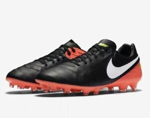 35230ad01c4 NEW Nike TIEMPO LEGACY II 2 FG Firm Ground Soccer Cleats 819218-018 ...