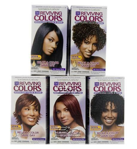 Dark and Lovely Reviving Colour Semi Permanent Hair Dye - Relax&Colour SameDay