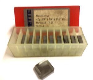 10 HM tournant plaques n7g x3-4 x 3-16 45 ° p25 de graisses NEUF h11724-afficher le titre d`origine
