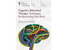 The Great Courses ~ Cognitive Behavioral Therapy ~ DVD & Gudebook ~ Brand New!