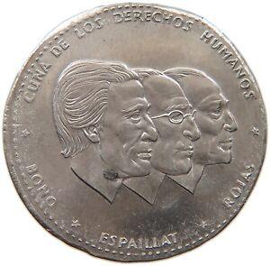DOMINICAN-REPUBLIC-1-2-PESO-1983-MINTING-ERROR-THINNER-PLANCHET-1-3MM-t84-079
