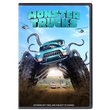 Monster Trucks (DVD, 2017) New w/ Slipcover FREE Shipping!