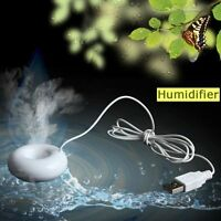 Mini USB Humidifier Air Purifier Aroma Diffuser Fr Office Home Room Car Portable