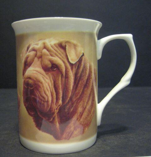 Shar Pei Dog Fine Bone China Mug Cup Beaker