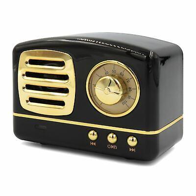 Gewissenhaft Retro Mini Wireless Bluetooth Speaker Portable Vintage Stereo For Phone Tablet Komplette Artikelauswahl