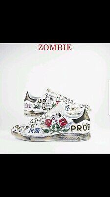 Dettagli su scarpe adidas stan smith personalizzate modello zombie