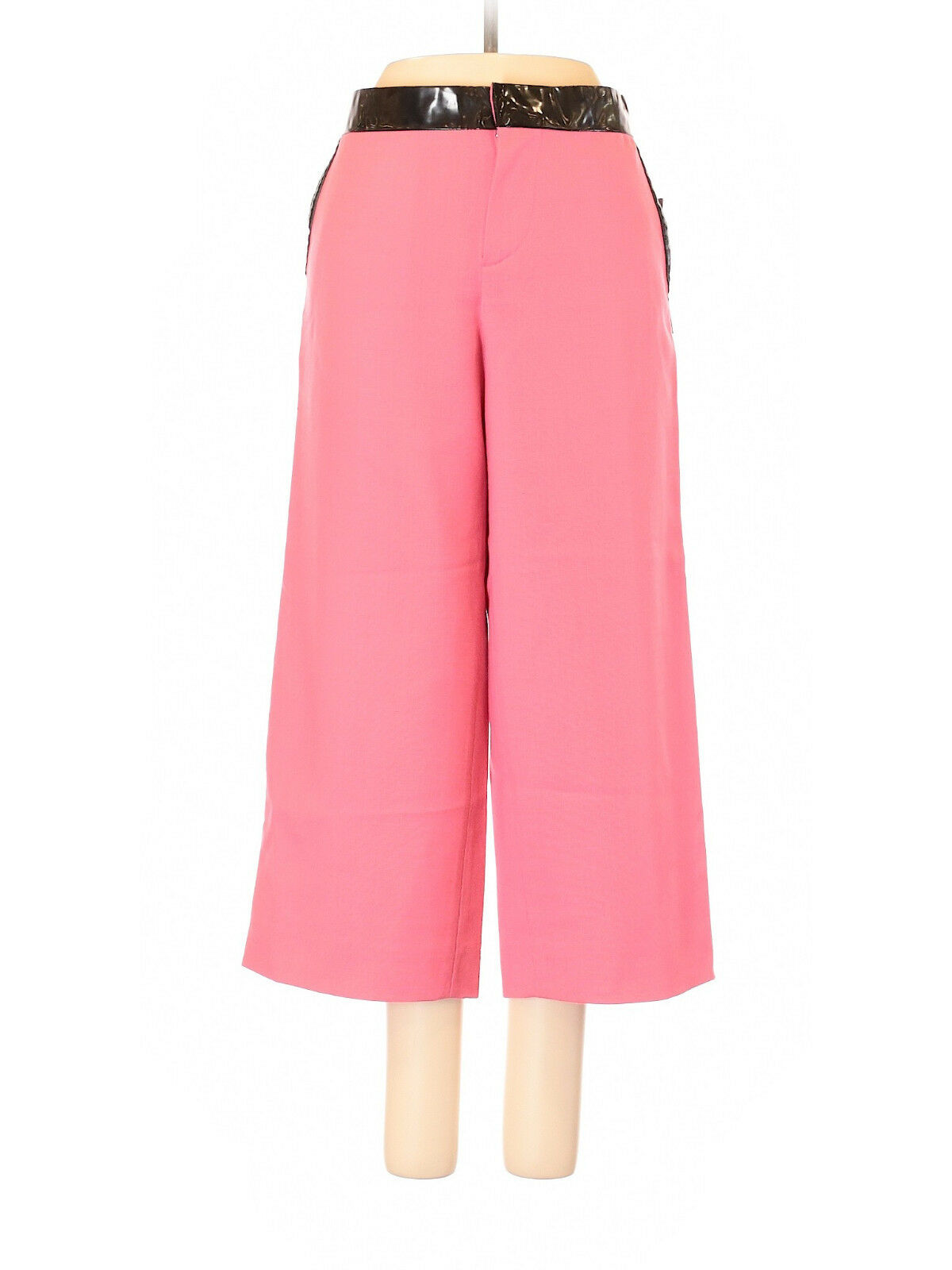 Marc Jacobs Pink Wide Leg Cropped Wool Pants, Size 8, NWT  Retail  228