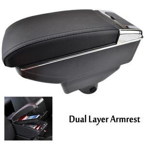 Armrest-For-Toyota-Yaris-L-Sedan-Vios-2014-2018-Centre-Console-Storage-Box