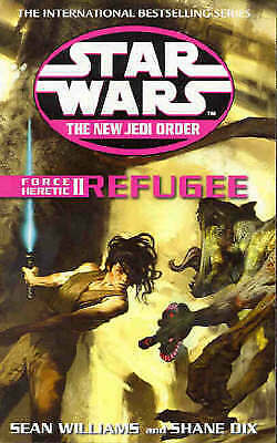1 of 1 - Star Wars: The New Jedi Order - Force Heretic II Refugee by Sean Williams, Shan…