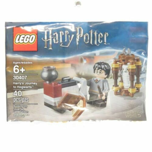 Lego Harry Potter 30407 Harry/'s Journey to Hogwarts Polybag Hedwig Owl Sealed