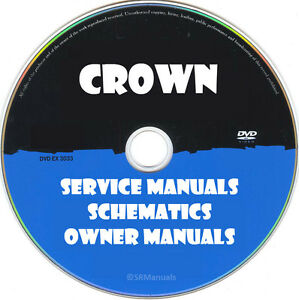 Crown oc-150 mi-263 output control center sch service manual.