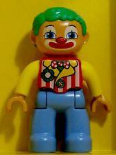 Lego Duplo Clown grüne Haare blaue Beine Neues Modell 2013 Neu